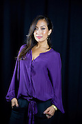 "American dancer, singer, choreographer and actress, best known for her current role as a judge on the ABC Network series ""Dancing with Stars,"" Carrie Ann Inaba poses for a portrait, on Tuesday, Sept. 10, 2013 in New York. (Photo by Diane Bondareff/Invision/AP)"