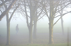 © Licenced to London News Pictures. 22-12-16 Lewes, East Sussex. Misty morning in Lewes, East Sussex on a calm day before Storm Barbara hits the UK. Credit: Peter Cripps/LNP