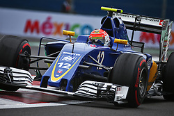 Felipe Nasr (BRA) Sauber C35.<br /> 28.10.2016. Formula 1 World Championship, Rd 19, Mexican Grand Prix, Mexico City, Mexico, Practice Day.<br /> Copyright: Batchelor / XPB Images / action press