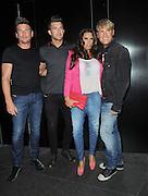 04.SEPTEMBER.2012. LONDON<br /> <br /> KATIE PRICE AND LEANDRO PENNA ALONG WITH PHIL TURNER AND GARY COCKERILL ATTEND THE JEANS FOR GENES LAUNCH PARTY AT THE W HOTEL, LEICESTER SQUARE.<br /> <br /> BYLINE: EDBIMAGEARCHIVE.CO.UK<br /> <br /> *THIS IMAGE IS STRICTLY FOR UK NEWSPAPERS AND MAGAZINES ONLY*<br /> *FOR WORLD WIDE SALES AND WEB USE PLEASE CONTACT EDBIMAGEARCHIVE - 0208 954 5968*