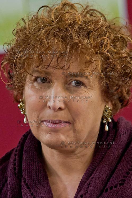 Roma 13 Febbraio 2014<br /> Presentato  il Rapporto sulla povertà a Roma e nel Lazio 2013 a cura della Comunità di Sant'Egidio. Linda Laura Sabbadini, Direttore del Dipartimento delle Statistiche Sociali e Ambientali dell'Istat