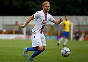 Barry Bannon on the ball during the Pre-Season Friendly match between St Albans FC and Crystal Palace at Clarence Park, St Albans, United Kingdom on 21 July 2015. Photo by Michael Hulf.