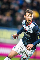 Falkirk's Rory Loy.<br /> Falkirk 3 v 1 Raith Rovers, Scottish Championship game at The Falkirk Stadium.