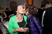 CLAIRE BLOOM;ZOE WANNAMAKER, 56th London Evening Standard Theatre Awards. Savoy Hotel. London. 28 November 2010.  -DO NOT ARCHIVE-© Copyright Photograph by Dafydd Jones. 248 Clapham Rd. London SW9 0PZ. Tel 0207 820 0771. www.dafjones.com.
