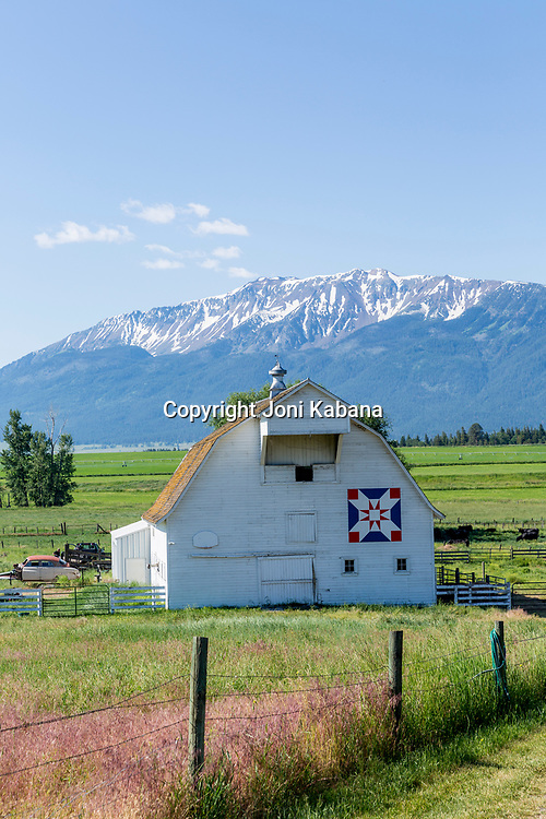 Barns in Wallowa County, Oregon