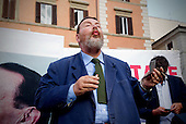 Demo for Silvio Berlusconi ' We are all whores '