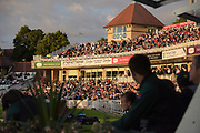 Fans during the Natwest T20 Blast North Group match between Nottinghamshire County Cricket Club and Worcestershire County Cricket Club at Trent Bridge, West Bridgford, United Kingdom on 26 July 2017. Photo by Simon Trafford.