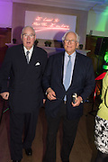 HENRY KESWICK; SIR EVELYN DE ROTHSCHILD, The Brown's Hotel Summer Party hosted by Sir Rocco Forte and Olga Polizzi, Brown's Hotel. Albermarle St. London. 14 May 2015