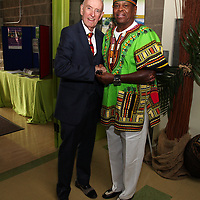 Honorable Richard Weber, Coach Floyd Irons