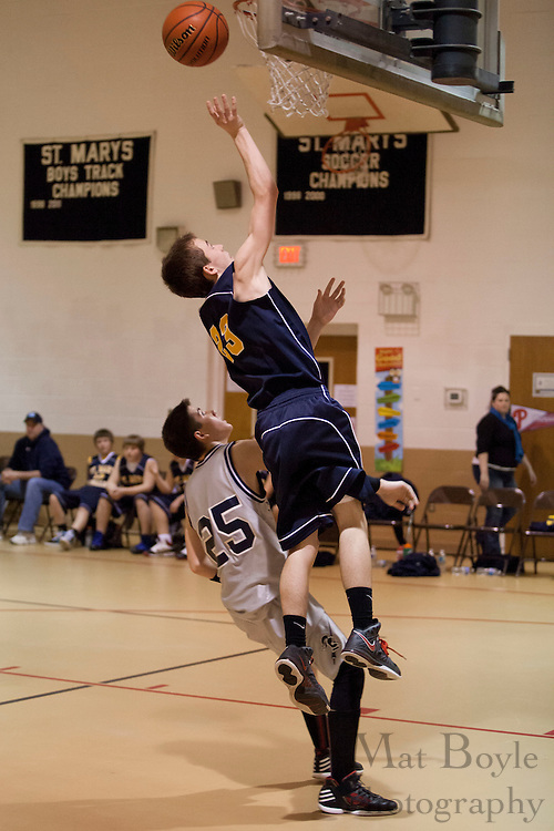 St mary Magdalen vs St Mary's basketball in Williamstown NJ on Saturday February 11, 2012.  (photo / Mat Boyle)