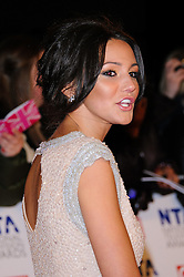 Michelle Keegan at the National Television Awards held in London on Wednesday, 25th January 2012. Photo by: i-Images