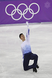 February 17, 2018 - Pyeongchang, KOREA - Daniel Samohin of Israel competing in the men's figure skating free skate program during the Pyeongchang 2018 Olympic Winter Games at Gangneung Ice Arena. (Credit Image: © David McIntyre via ZUMA Wire)