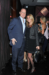 DAVID JOHNSTONE and KATIE LAMB at a party to celebrate the launch of Pomp magazine - a magazine representing London Luxury without the Ceremony focusing on the luxury, fashion and culture of the Capital, hosted by Tom Parker Bowles and the Directors of Pomp Magazine held at The Cuckoo Club, Swallow Street, London on 17th November 2011.