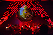 Planetarium, a series of songs composed by Bryce Dessner, Sufjian Stevens, and Nico Muhly at the Brooklyn Academy of Music (BAM).