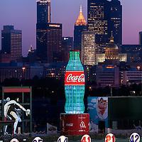 Atlanta Braves Coke Bottle - Atlanta, GA
