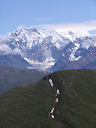 Wrangell St Elias Mountain Range