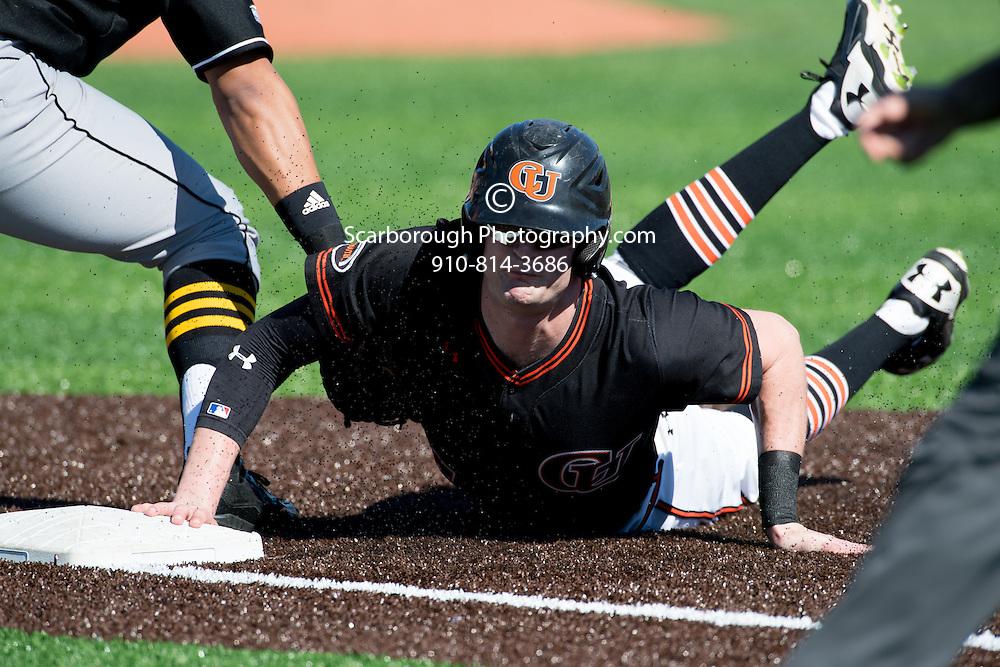 2017 Campbell University Baseball vs Northern Kentucky University<br />  Photo By Bennett Scarborough