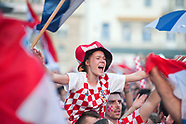 CROATIA - Zagreb watches the World Cup Final 2018