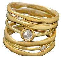 ippolita gold and diamond ring