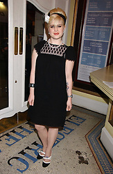 KELLY OSBOURNE at the launch of 'Grand Classics:Films with Style' series in London hosted by Vivienne Westwood at The Electric Cinema, Portobello Road, London W11 on 20th March 2006.<br />