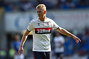 George Saville (22) of Middlesbrough during the EFL Sky Bet Championship match between Cardiff City and Middlesbrough at the Cardiff City Stadium, Cardiff, Wales on 21 September 2019.