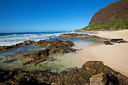 Ulehawa Beach Park, Nanakuli, Leeward Coast, Oahu, Hawaii