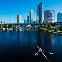 TAMPA, FL -- July 2012 -- Downtown Tampa Skyline (PHOTO /CHIP LITHERLAND)