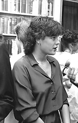 PRINCESS STEPHANIE OF MONACO at a party in London on 6th July 1981.