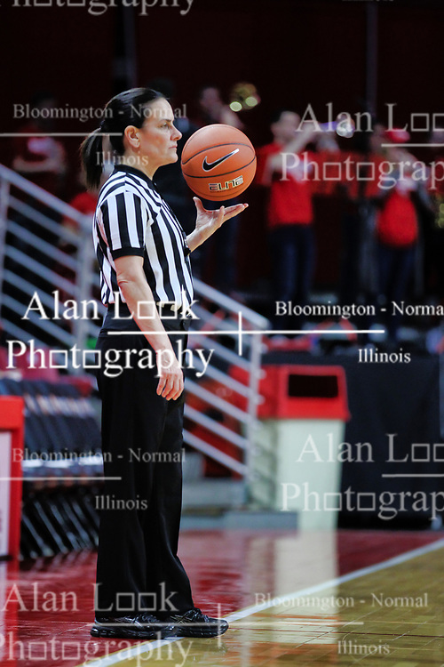 NORMAL, IL - January 06:  Michelle Del Duco during a college women's basketball game between the ISU Redbirds and the Drake Bulldogs on January 06 2019 at Redbird Arena in Normal, IL. (Photo by Alan Look)