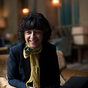 May 17, 2016 - New York, NY : French researcher in Microbiology, Genetics, and Biochemistry, Emmanuelle Charpentier, poses for a portrait at the Soho Grand® Hotel in Manhattan on Tuesday morning.  Charpentier, who is known for her role in discovering the CRISPR-Cas9 gene-editing technique, was in town to receive a Doctor of Science degree, honoris causa, from New York University. CREDIT: Karsten Moran for The New York Times