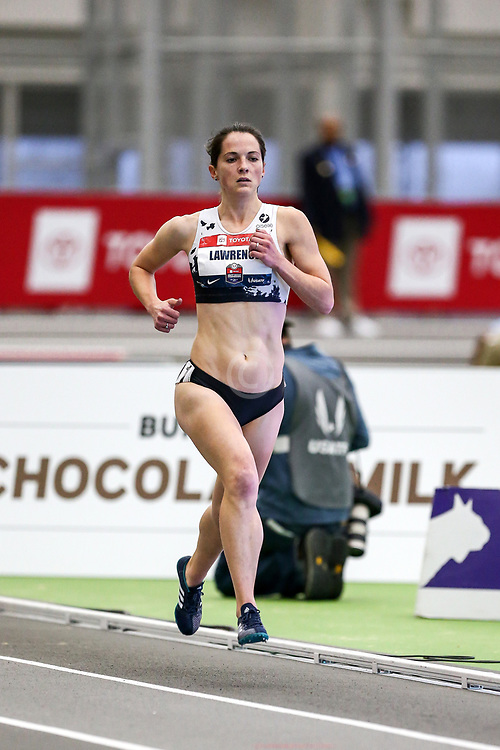 USATF Indoor Track and Field Championships<br /> held at Ocean Breeze Athletic Complex in Staten Island, New York on February 22-24, 2019; Oiselle, Two Mile,