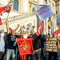 Festa in Campidoglio per Ignazio Marino sindaco