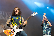 Killswitch Engage perform on May 3, 2019 at Metropolitan Park in Jacksonville, Florida (Photo: Charlie Steffens/Gnarlyfotos)