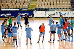 Primoz Pori at practice of Slovenian Handball Women National Team, on June 3, 2009, in Arena Kodeljevo, Ljubljana, Slovenia. (Photo by Vid Ponikvar / Sportida)