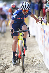 October 20, 2018 - Boom, France - PIDCOCK Thomas (GBR) of TP RACING in action during the 2nd leg of the men elite and U23 Telenet Superprestige cyclocross race (Credit Image: © Panoramic via ZUMA Press)