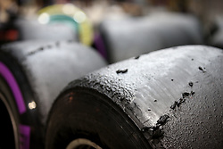 September 15, 2017 - Singapore, Singapore - Motorsports: FIA Formula One World Championship 2017, Grand Prix of Singapore, ..Pirelli, tire, tires, tyre, tyres, wheel, wheels, Reifen, Rad, feature  (Credit Image: © Hoch Zwei via ZUMA Wire)