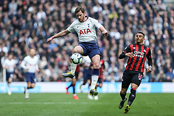 Jan Vertonghen of Tottenham Hotspur controls the ball in the air - Mandatory by-line: Arron Gent/JMP - 13/04/2019 - FOOTBALL - White Hart Lane - London, England - Tottenham Hotspur v Huddersfield Town - Premier League