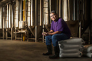 Brewmaster Ernie at Peabody Brewing in Baltimore Maryland