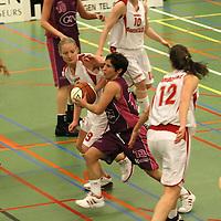 TUBBERGEN..Basketbal vrouwen, eredivisie: Twente-Amazone..Editie: Sport....ffu press agency©2010 Wilco van Driessen..TT20101701..