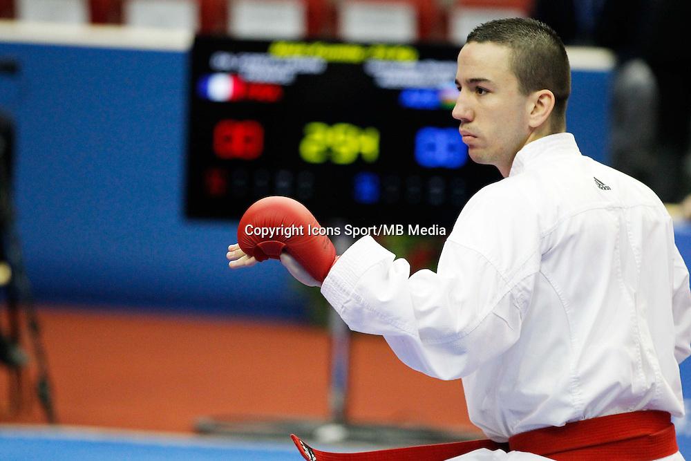 Logan DA COSTA - 24.01.2015 - Open de Paris - Karate Premier League -<br />Photo : Johnny Fidelin / Icon Sport