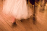 Traditional Irish set dancing at a Ceilidh at Vaughan's Bar in Kilfenora, County Clare, West of Ireland