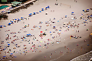 Aerial view of the Isle of Palms Beach Charleston, SC