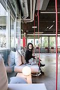 Milan, Talent Garden coworking company. coffee area, Rosalba Pinto, Account Executive, Adtz