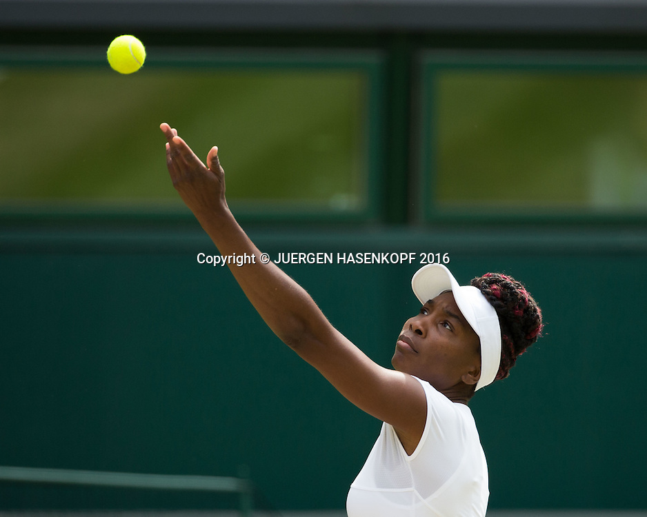 VENUS WILLIAMS (USA)<br /> <br /> Tennis - Wimbledon 2016 - Grand Slam ITF / ATP / WTA -  AELTC - London -  - Great Britain  - 7 July 2016.