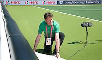 THE HAGUE - Floormanager Robert Passieux. COPYRIGHT  KOEN SUYK
