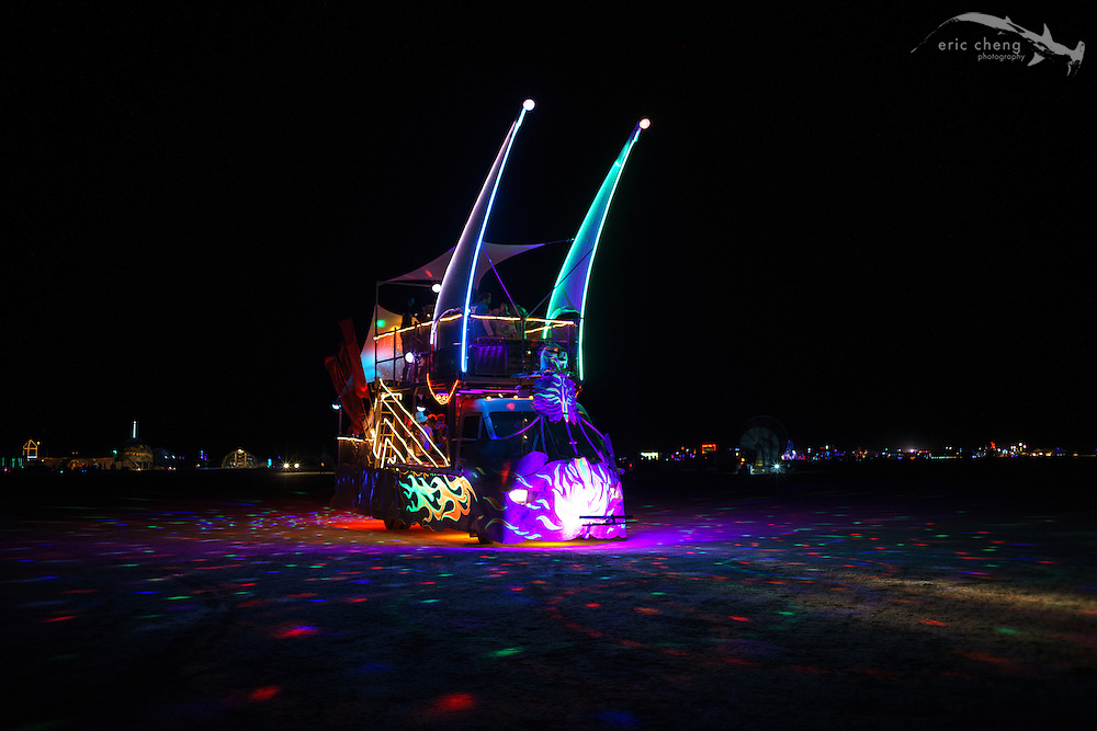 Art car. Burning Man 2014