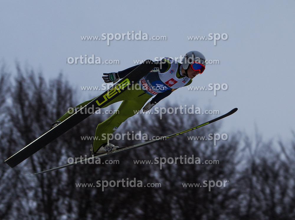 06.01.2013, Paul Ausserleitner Schanze, Bischofshofen, AUT, FIS Ski Sprung Weltcup, 61. Vierschanzentournee, Training, im Bild Jaka Hvala (SLO) // Jaka Hvala of Slovenia during practice Jump of 61th Four Hills Tournament of FIS Ski Jumping World Cup at the Paul Ausserleitner Schanze, Bischofshofen, Austria on 2013/01/06. EXPA Pictures © 2012, PhotoCredit: EXPA/ Juergen Feichter