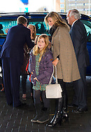 Amsterdam,01-02-2015 <br /> <br /> King Willem-Alexander and Queen Maxima attended with their daughters Princess Alexia and Princess Ariane Jumping Amsterdam. Princess Margarita Bourbon de Parme also attended<br /> <br /> Photo:Royalportraits Europe/Bernard Ruebsamen