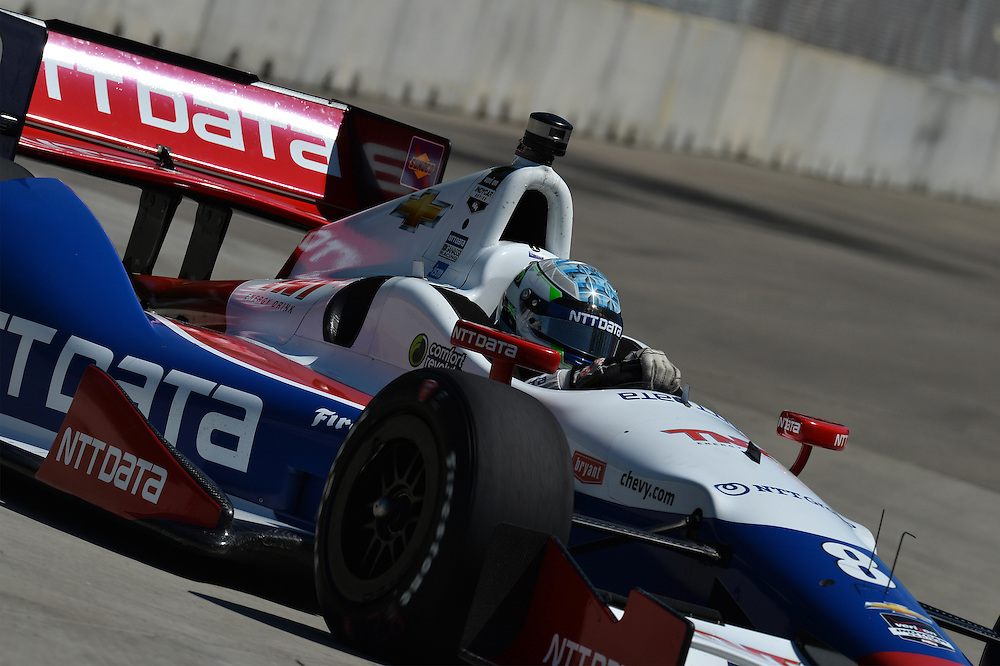 Ryan Briscoe, The Raceway at Belle Isle Park, Detroit, MI USA 6/1/2014