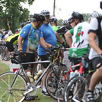 Hundreds of cyclists came out to the TangleFoot Trail in New Albany Saturday to take part in the Pedaling for Hope to benefit the Regional Rehab Center
